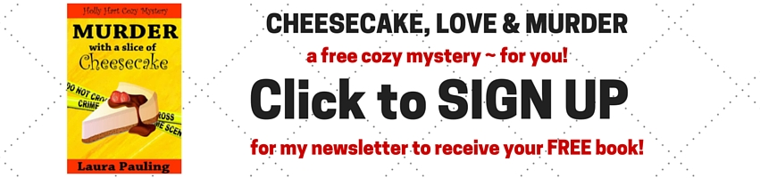 CHEESECAKE, LOVE & MURDER